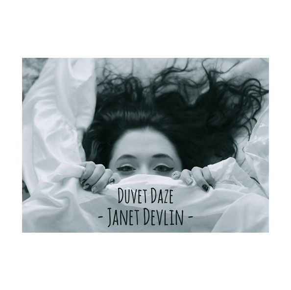 Duvet Daze - EP Cover Poster (Size - A2) - Janet Devlin