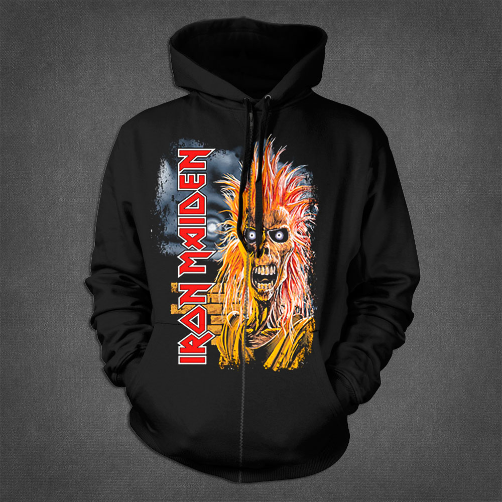First Album Zip Hoodie - Iron Maiden [Global USA]