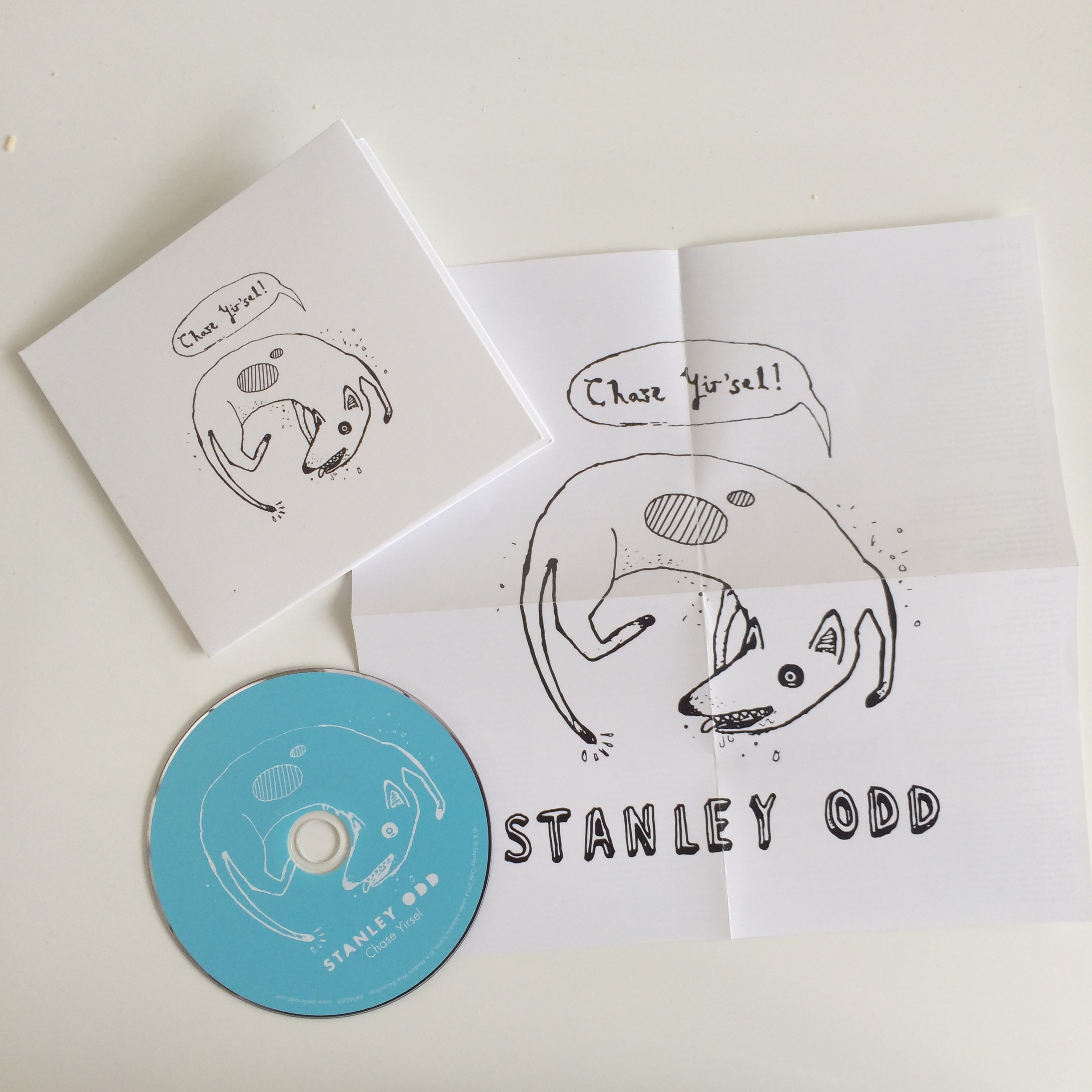 Chase Yirsel - EP (inc. immediate download) - Stanley Odd