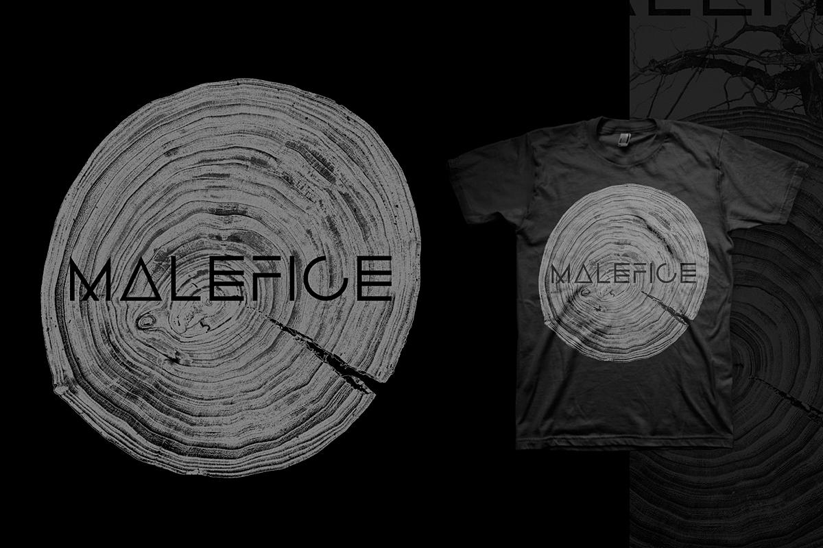 'Gravitas' Tee (Black) **SALE** - Malefice