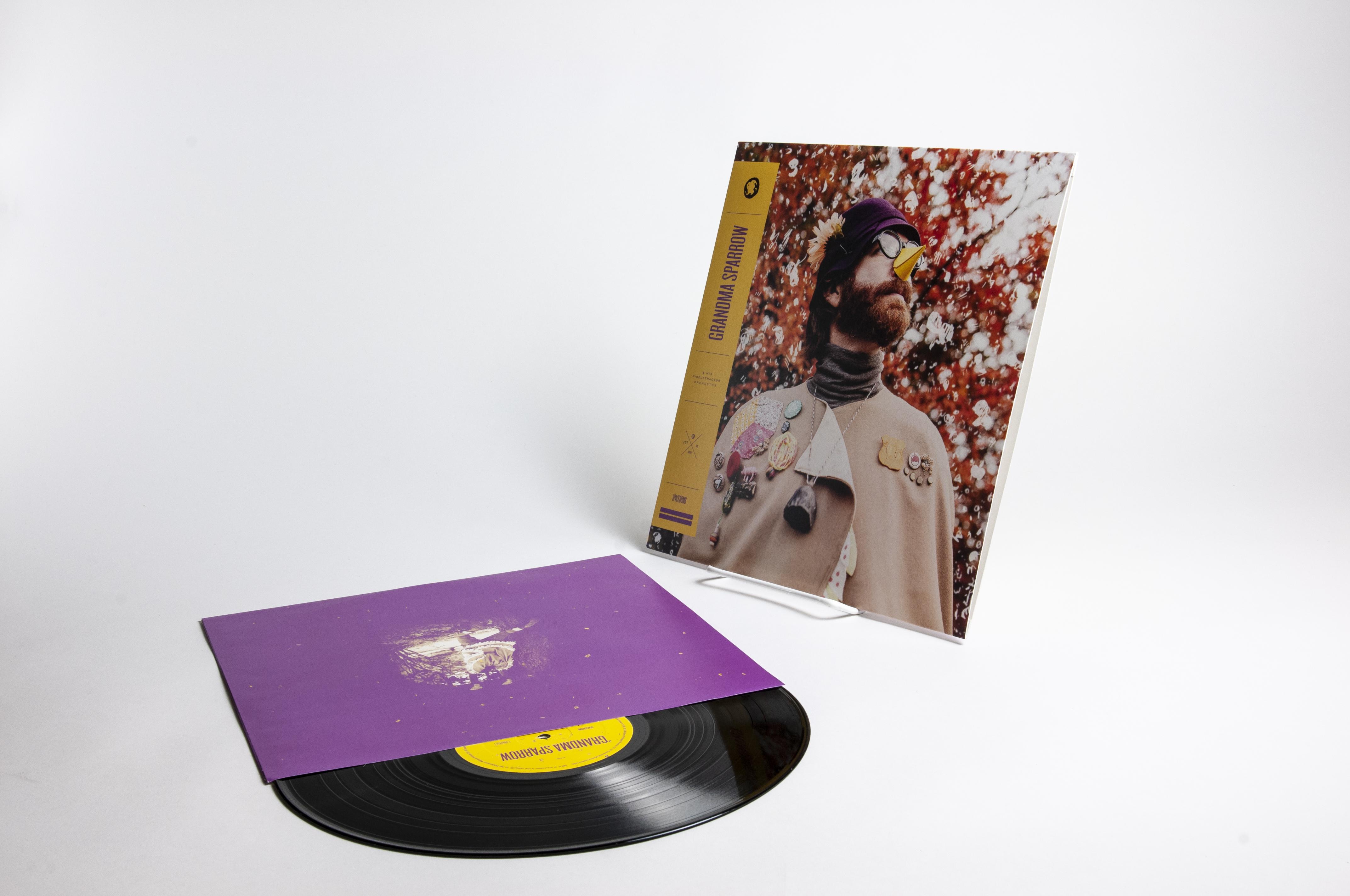Grandma Sparrow & his Piddletractor Orchestra – Vinyl - Spacebomb Records