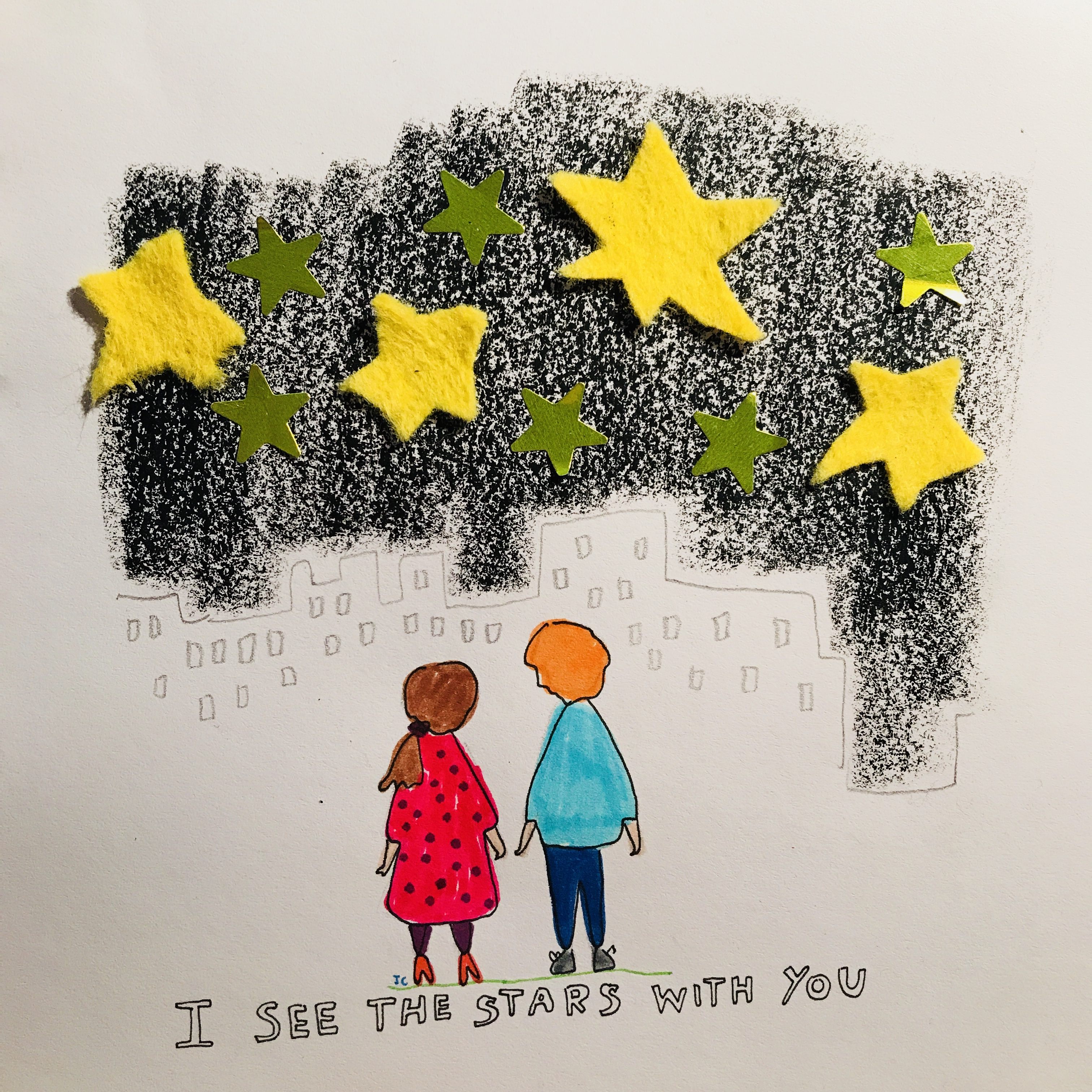 I see the stars with you - Jessie Cave