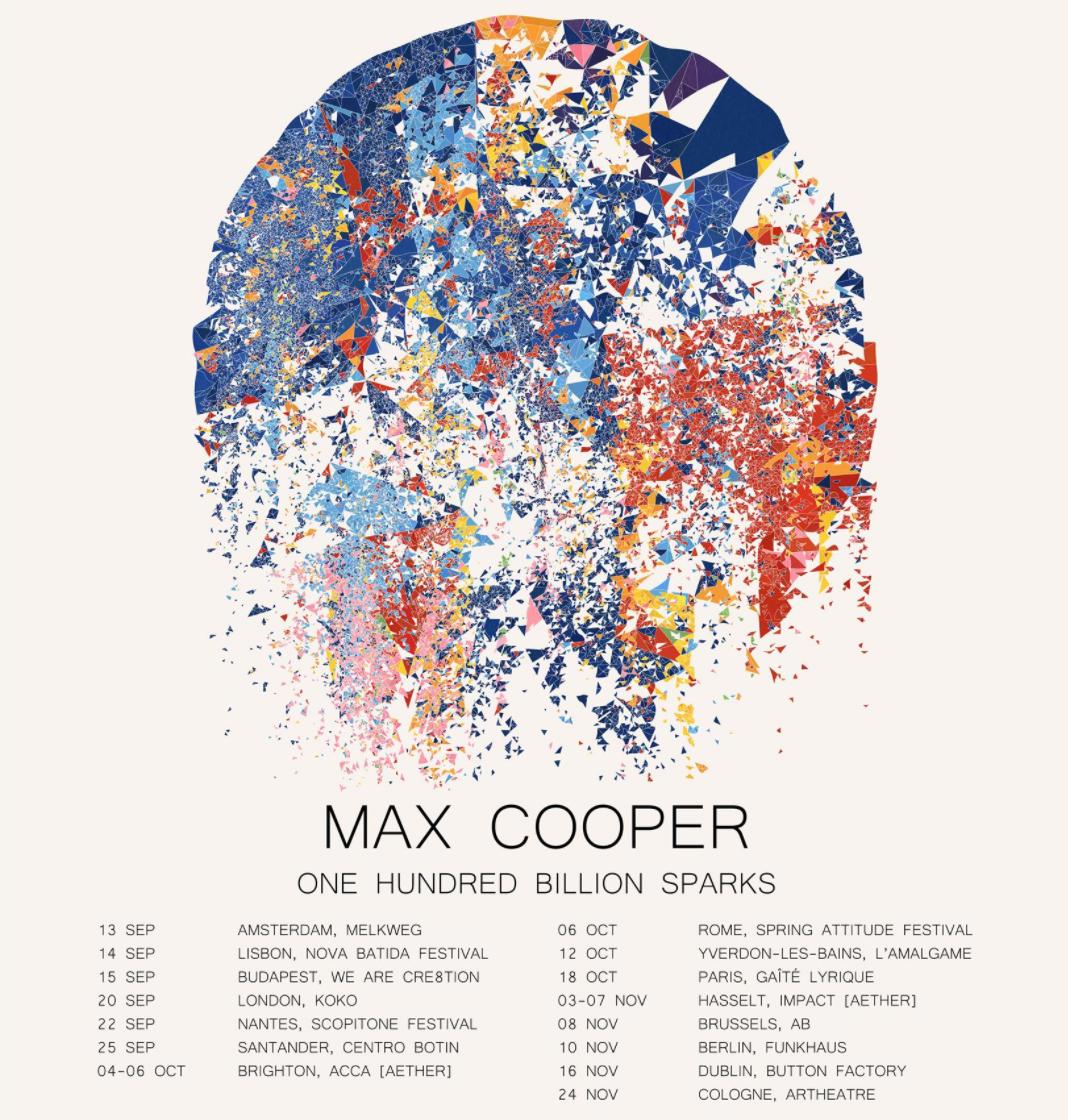 One Hundred Billion Sparks (Ticket bundle) - Max Cooper