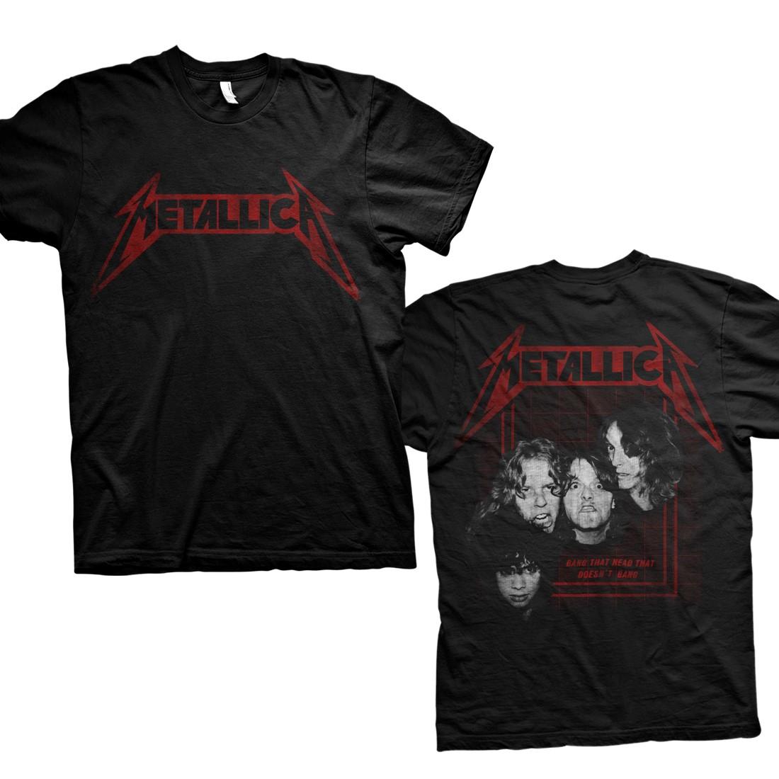 Bang Photo - Black Tee - Metallica