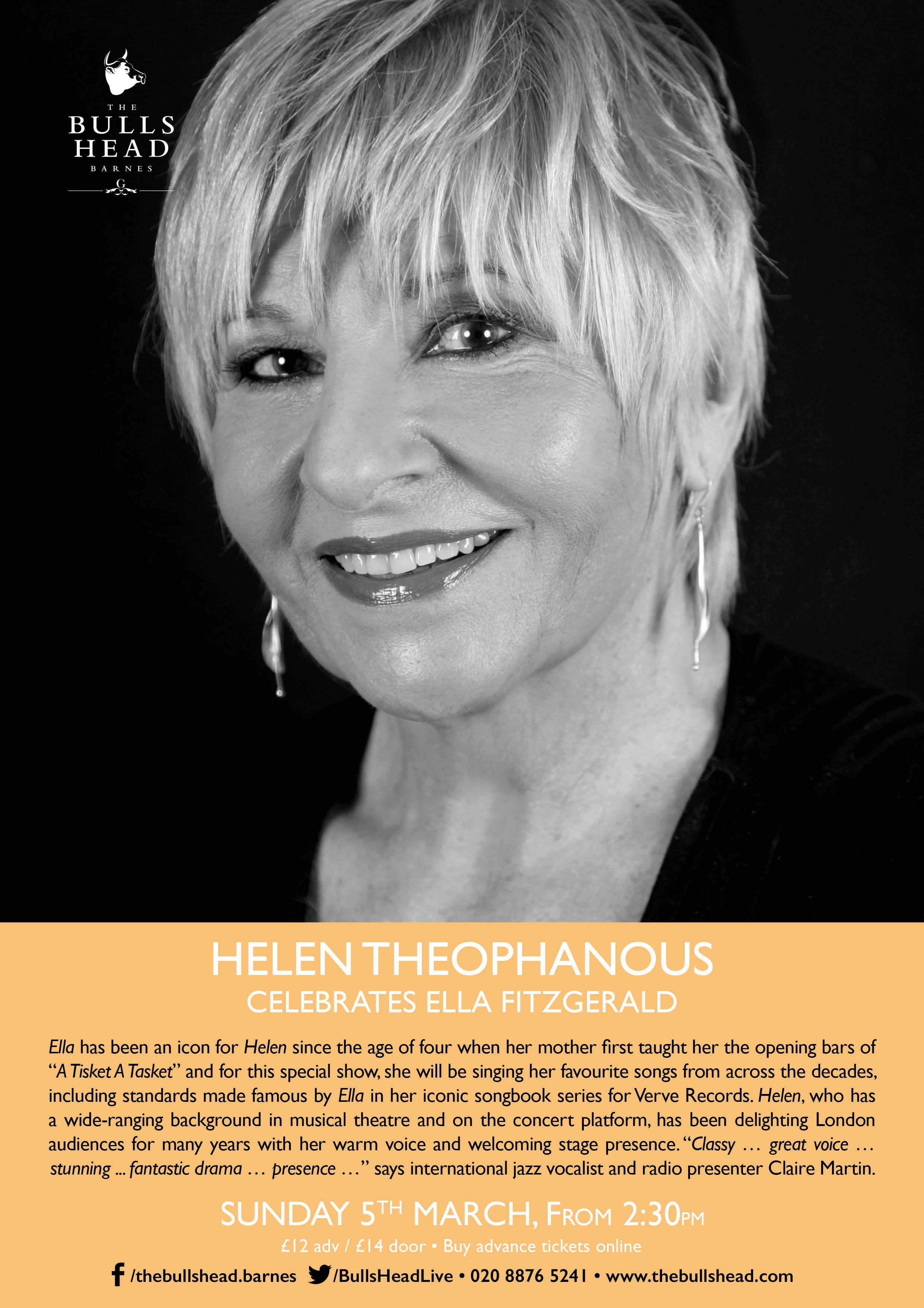 Helen Theophanous Celebrates Ella Fitzgerald
