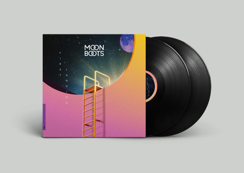 First Landing Vinyl - Moon Boots
