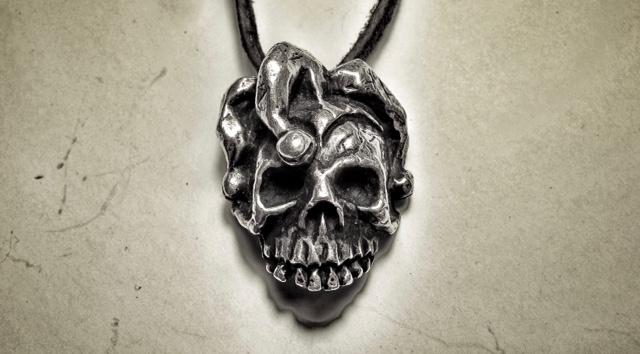 Jester Skull Medallion - Killing Joke
