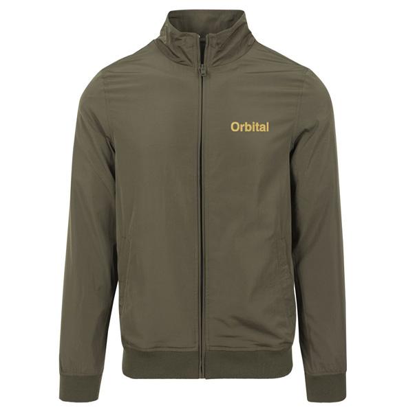 Orbital Olive Embroidered Jacket - Orbital
