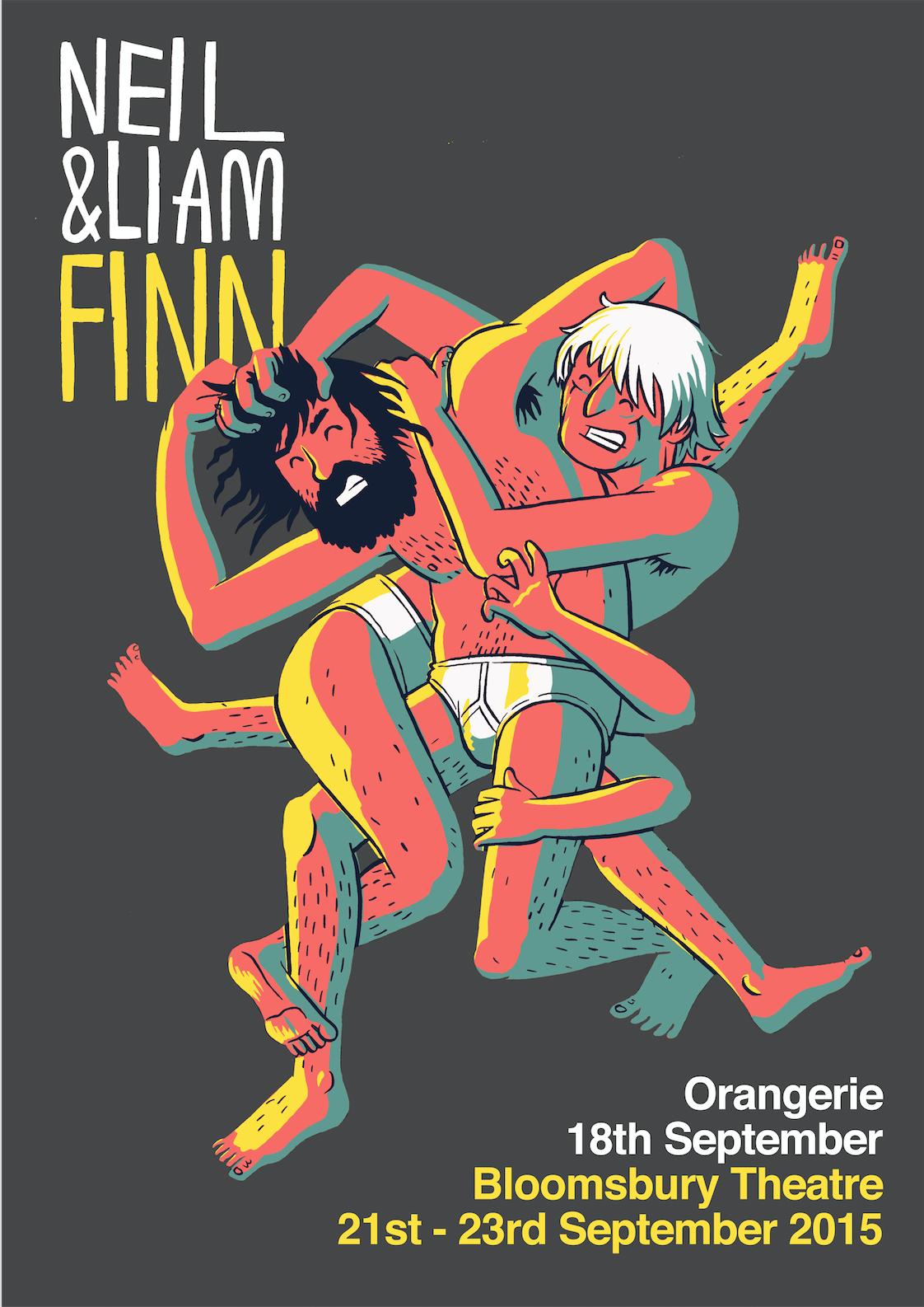 Neil and Liam Finn Wrestling Bundle - Liam Finn