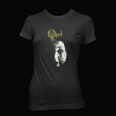 Opeth - Doll Face Fitted T-Shirt - Opeth
