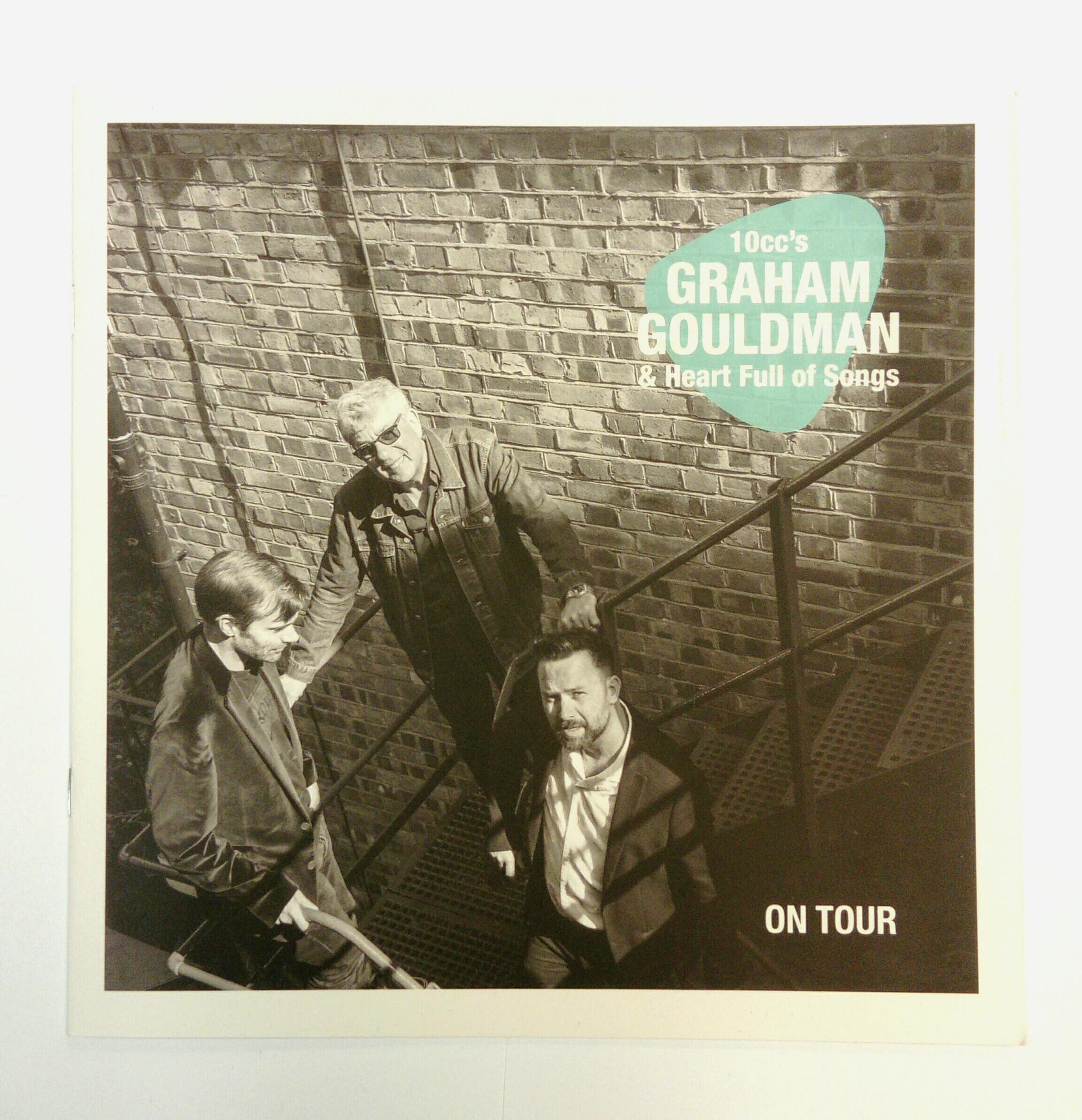 Heart Full Of Songs Programme - Graham Gouldman