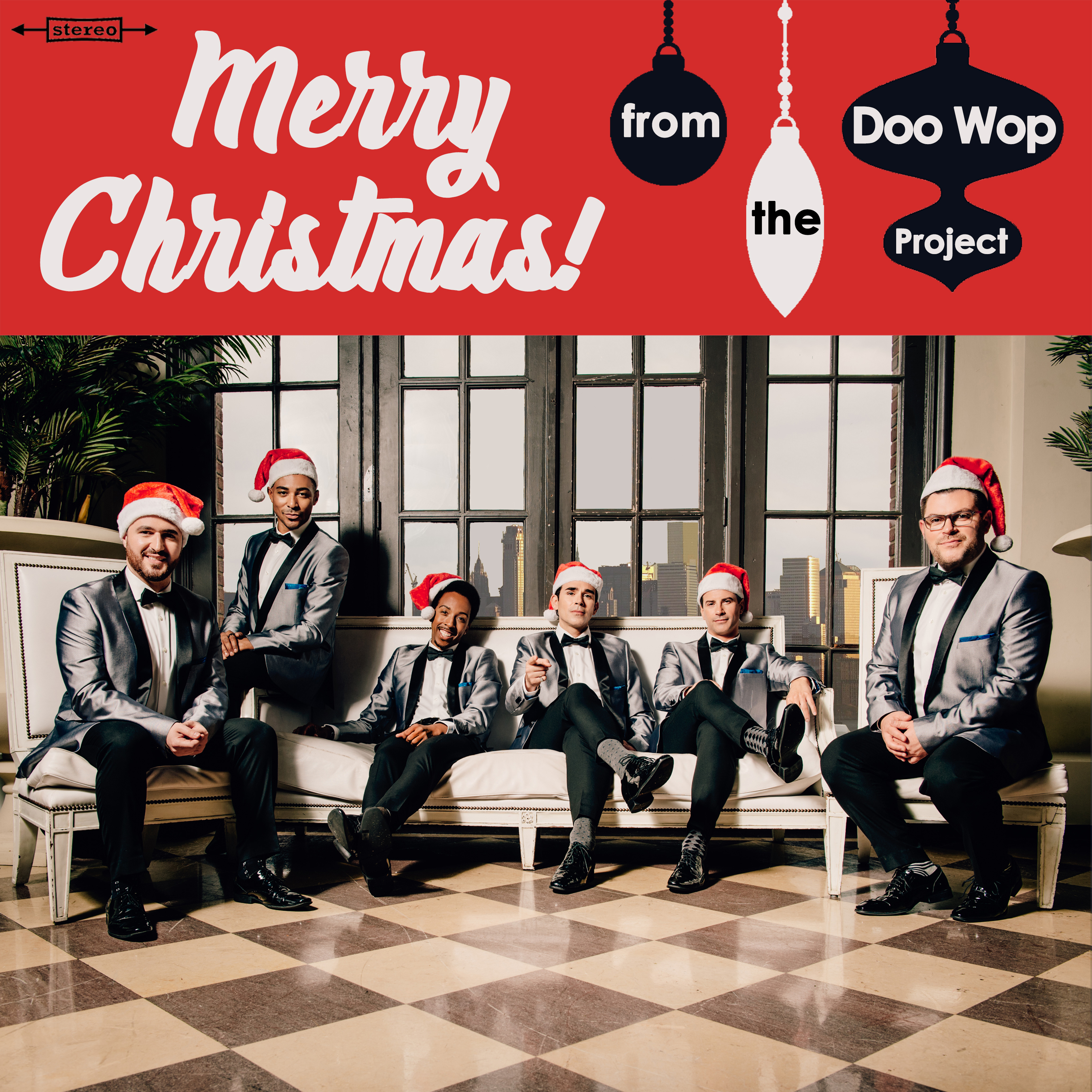 """""""Merry Christmas! from The Doo Wop Project"""" CD - The Doo Wop Project"""