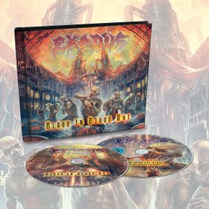 Exodus -  Blood In, Blood Out Limited Edition Digibook CD/DVD - Omerch