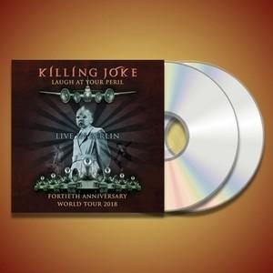 Laugh At Your Peril - Live In Berlin 2018 CD - Killing Joke