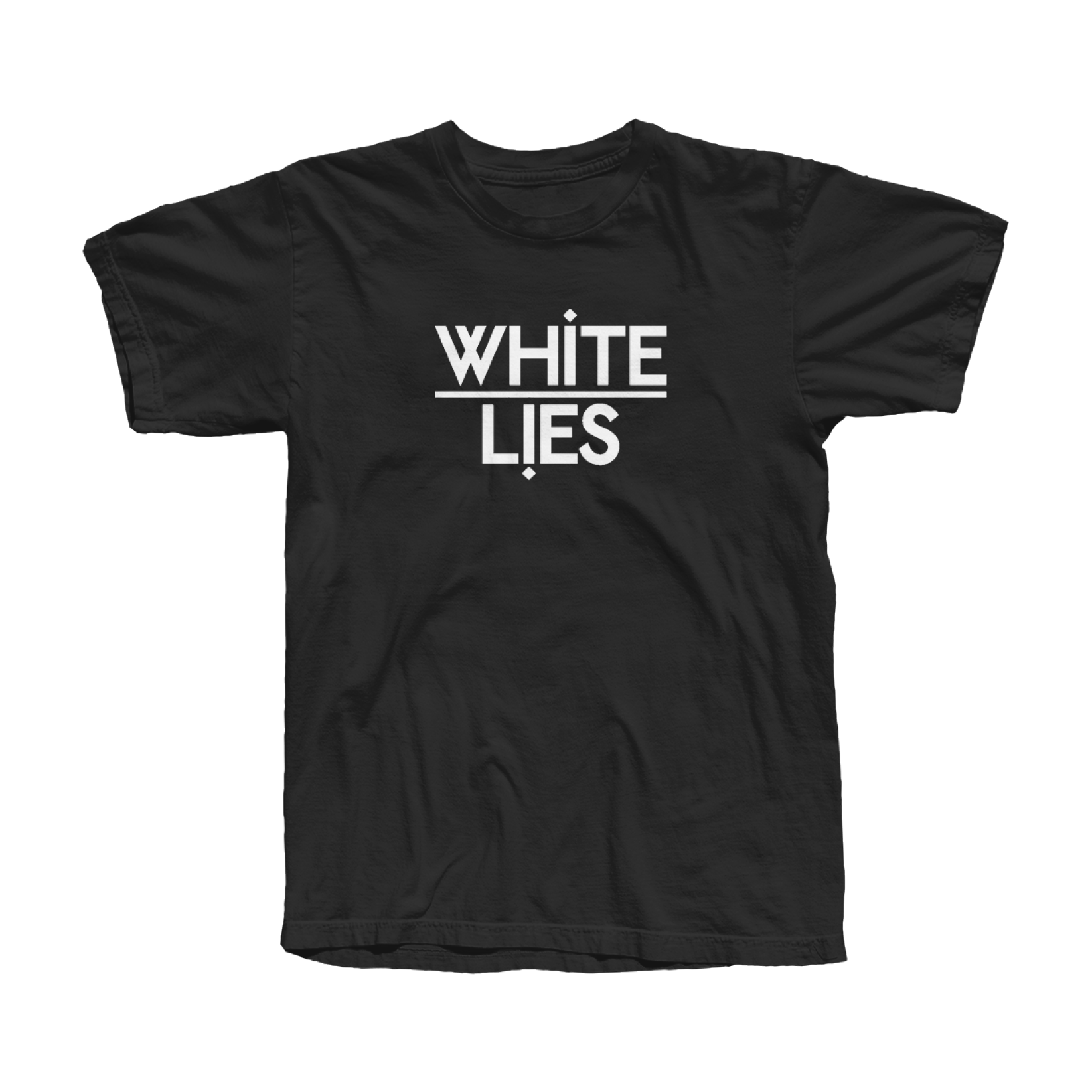 Men's Classic Logo T-shirt - Black - White Lies