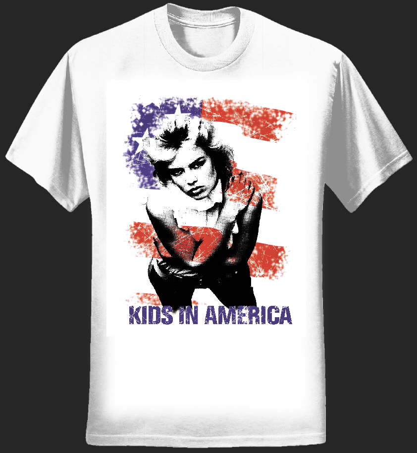 Kids In America T - Kim Wilde