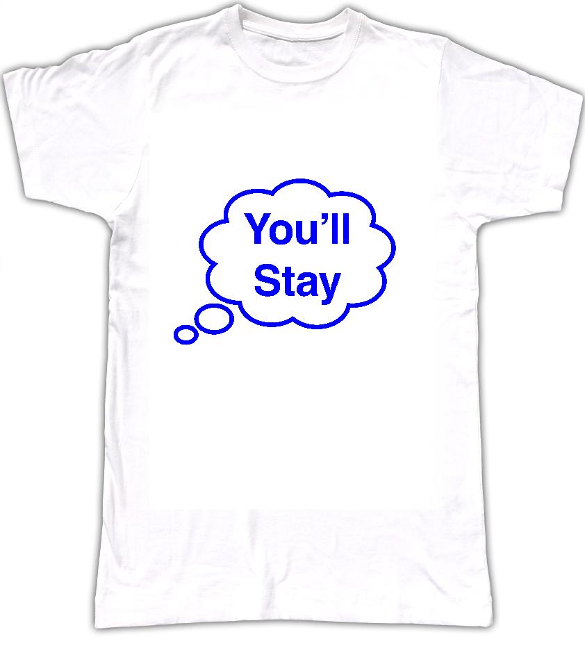 You'll Stay T-shirt - Tom Vek