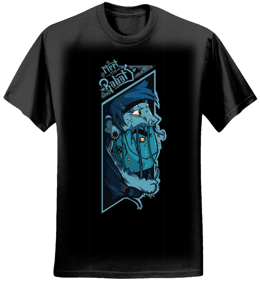 Pan Robot T-Shirt (Womens) - Meet The Robots