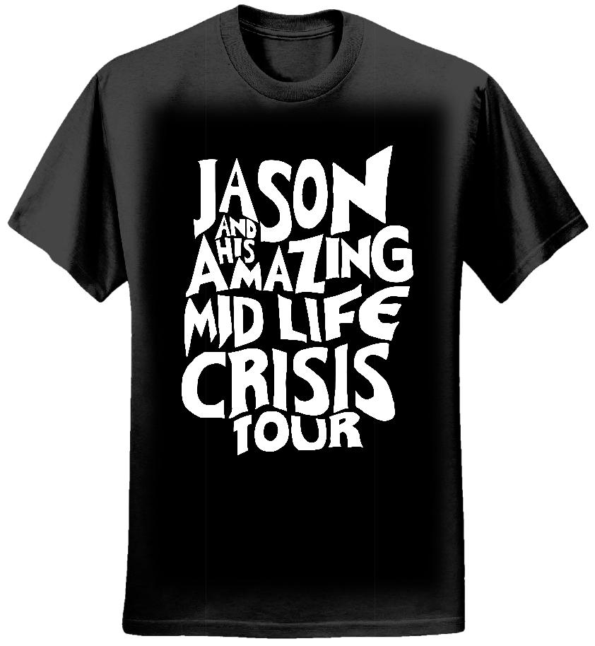 Jason Donovan Amazing Midlife Crisis Ladies T-Shirt - Jason Donovan