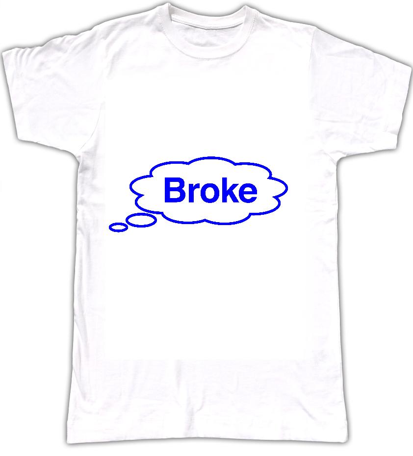Broke T-shirt - Tom Vek